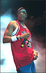 Jayz in Bulls jersey?